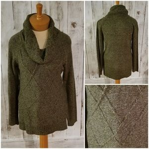 Carolyn Taylor Olive Green Sweater